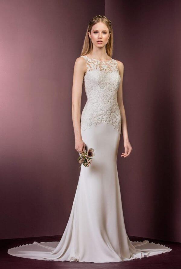 Ellis Bridals 11484 Wedding Dress