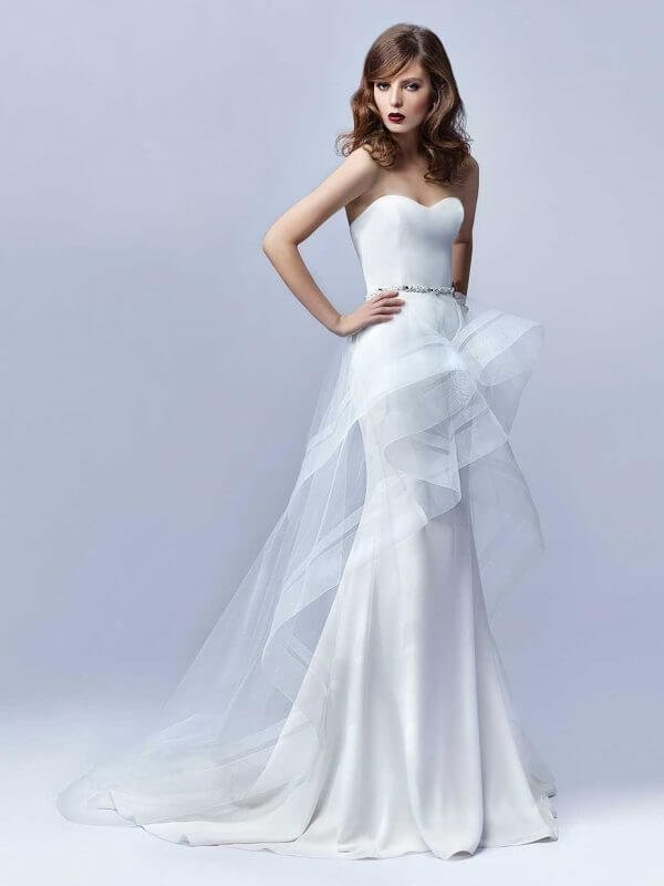 Enzoani Blue Janessa Wedding Dress