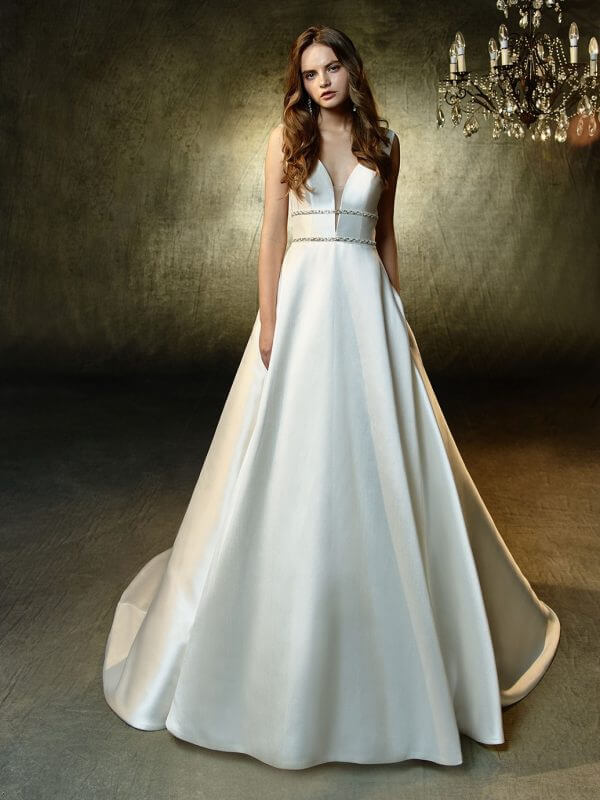 Leandra Wedding Dress by Enzoani Blue