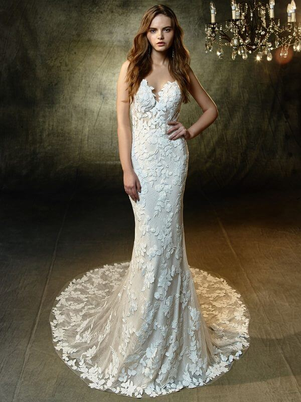 Lesley Wedding Dress by Enzoani Blue