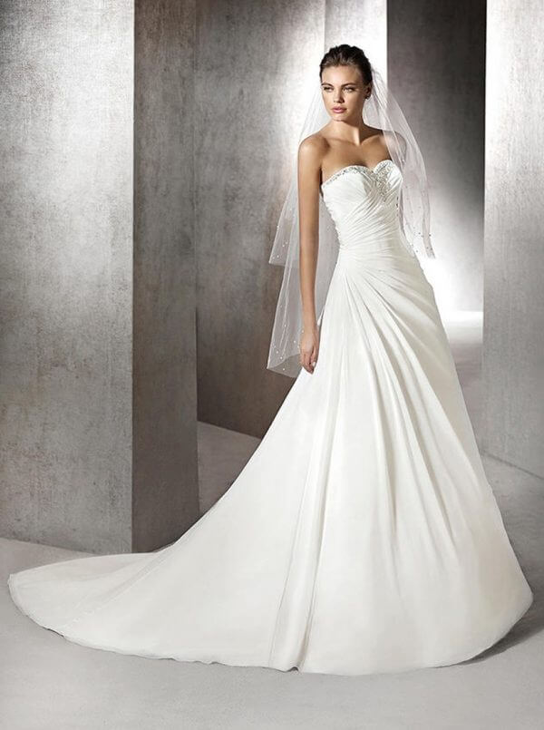 San Patrick Zafiro Wedding Dress