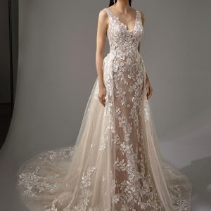 Enzoani Blue Mai Wedding Dress