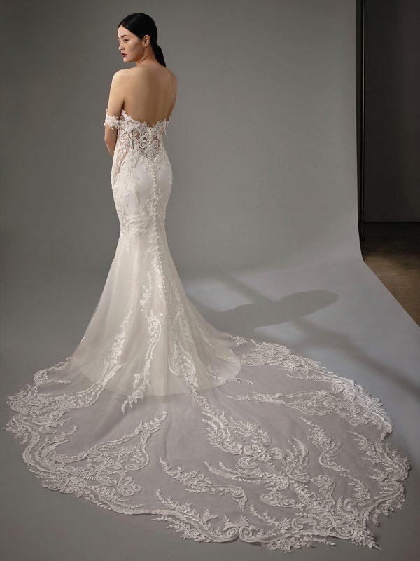 Enzoani Blue Martha Wedding Dress