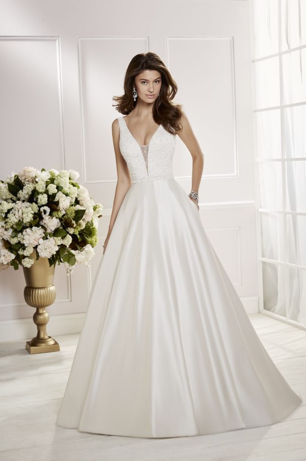 Ronald Joyce Cora 69466 Wedding Dress | Krystle Brides