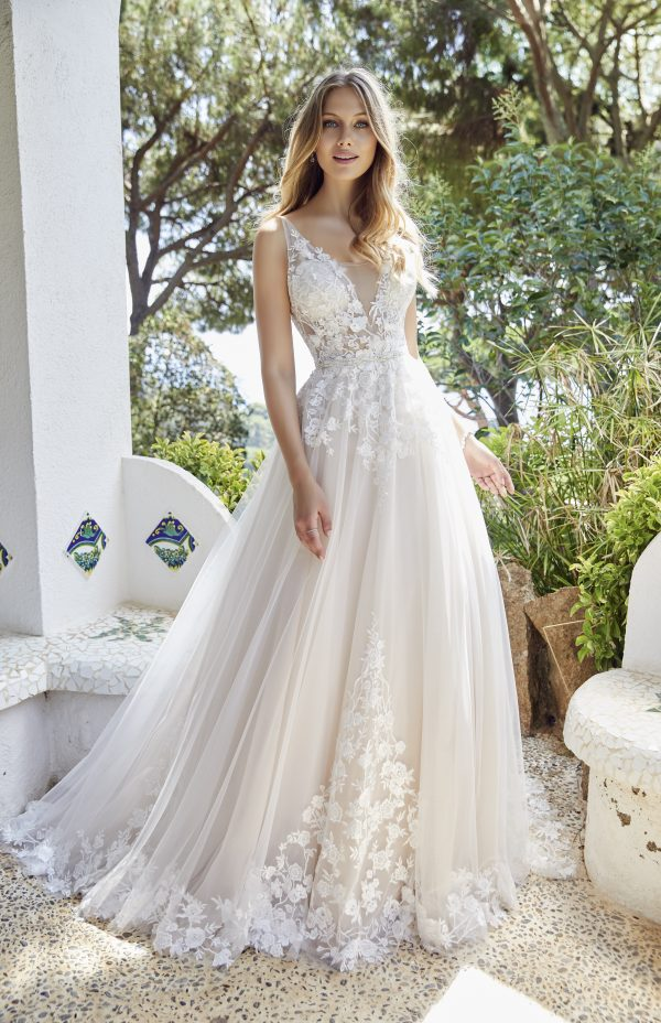 Ronald Joyce Daria 69521 Wedding Dress | Krystle Brides
