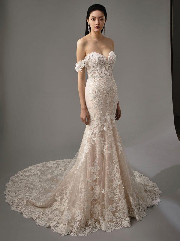 Enzoani Blue Mimi Wedding Dress