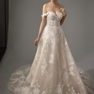 Enzoani Blue Mariane Wedding Dress | Krystle Brides