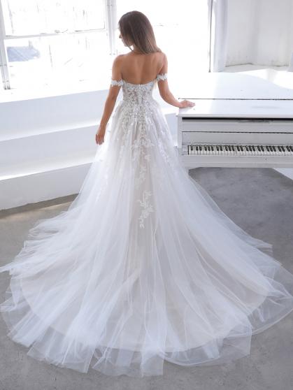 Enzoani Blue Natsuko Wedding Dress   Krystle Brides