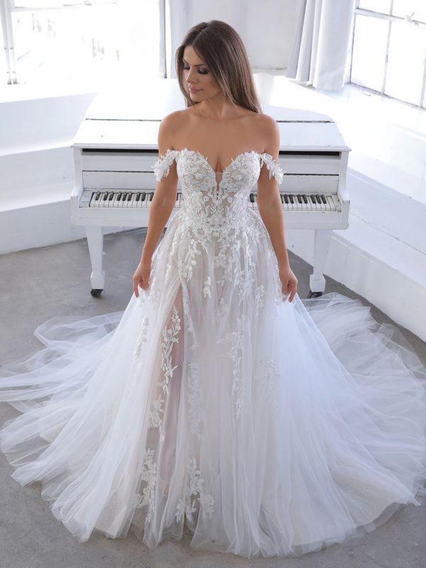 Enzoani Blue Natsuko Wedding Dress | Krystle Brides