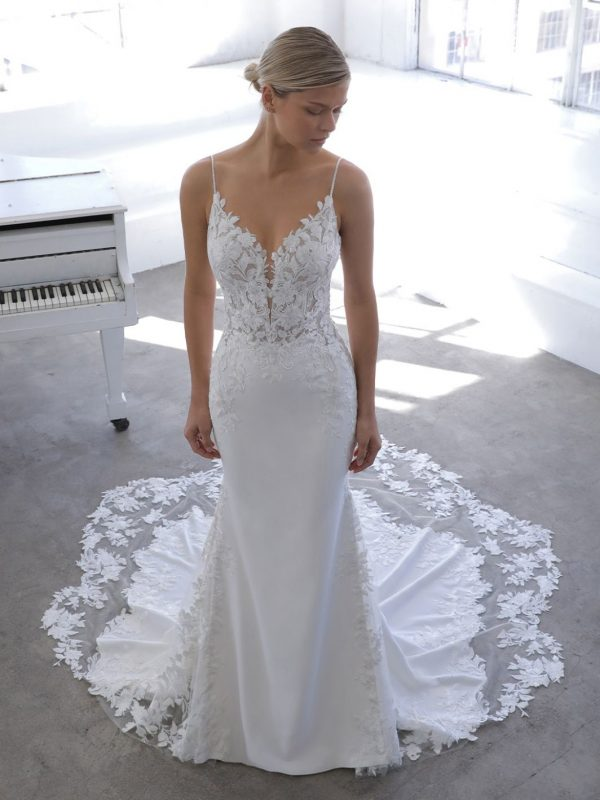 Enzoani Blue Nadia Wedding Dress | Krystle Brides