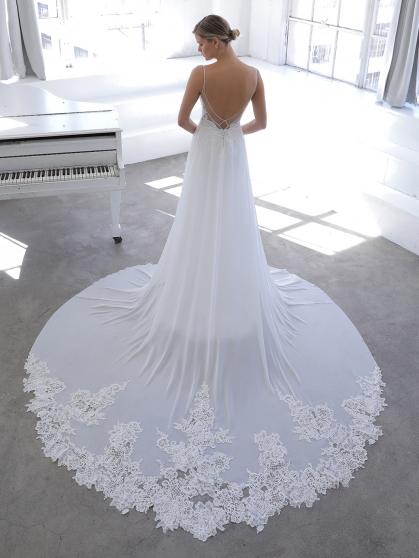 Enzoani Blue Novella Wedding Dress   Krystle Brides