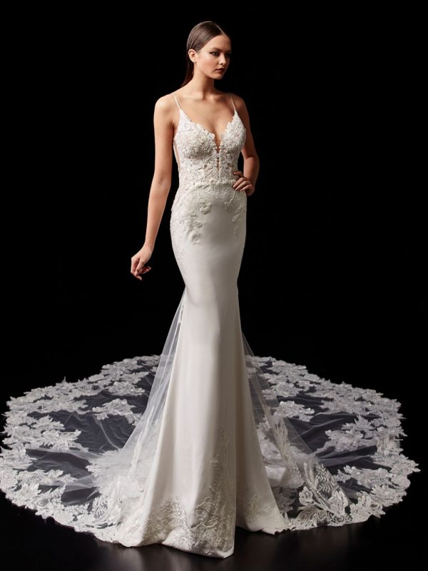 Enzoani Pallas Wedding Dress | Krystle Brides