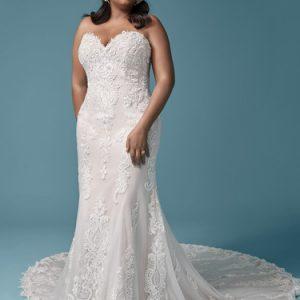 Maggie Sottero Clarette Anne Wedding Dress | Krystle Brides