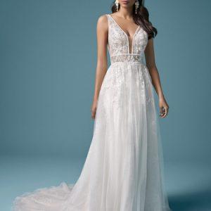 Maggie Sottero Quinley Wedding Dress | Krystle Brides