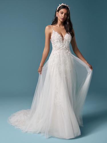 Maggie Sottero Roanne Rose Wedding Dress | Krystle Brides