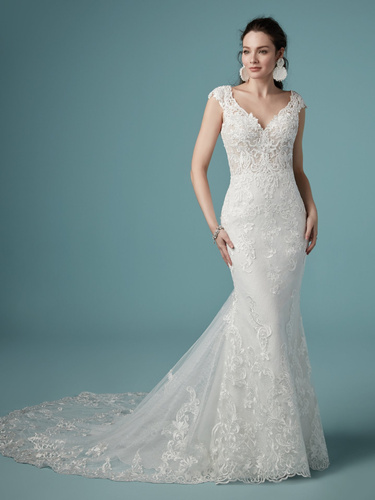 Maggie Sottero Celeste Wedding Dress | Krystle Brides
